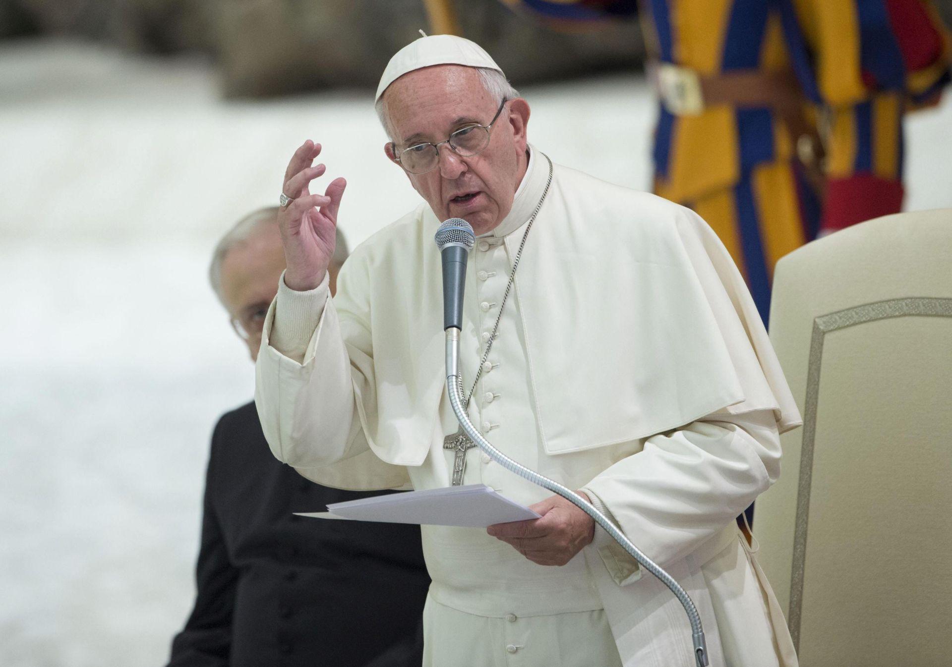 'ZATVARANJE OČIJU': Papa prihvatio ostavku brazilskog biskupa zbog pedofilskog skandala