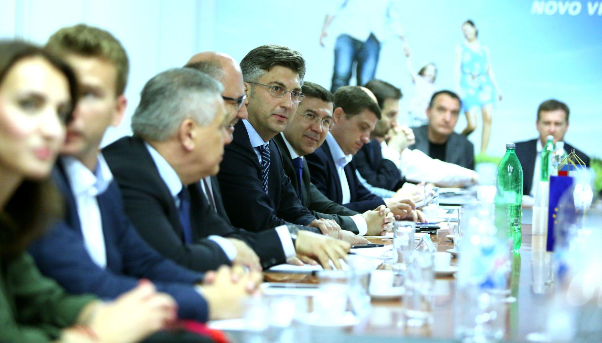 PLENKOVIĆ NOVI PREDSJEDNIK HDZ-a: Izabrani novi tajnici stranke