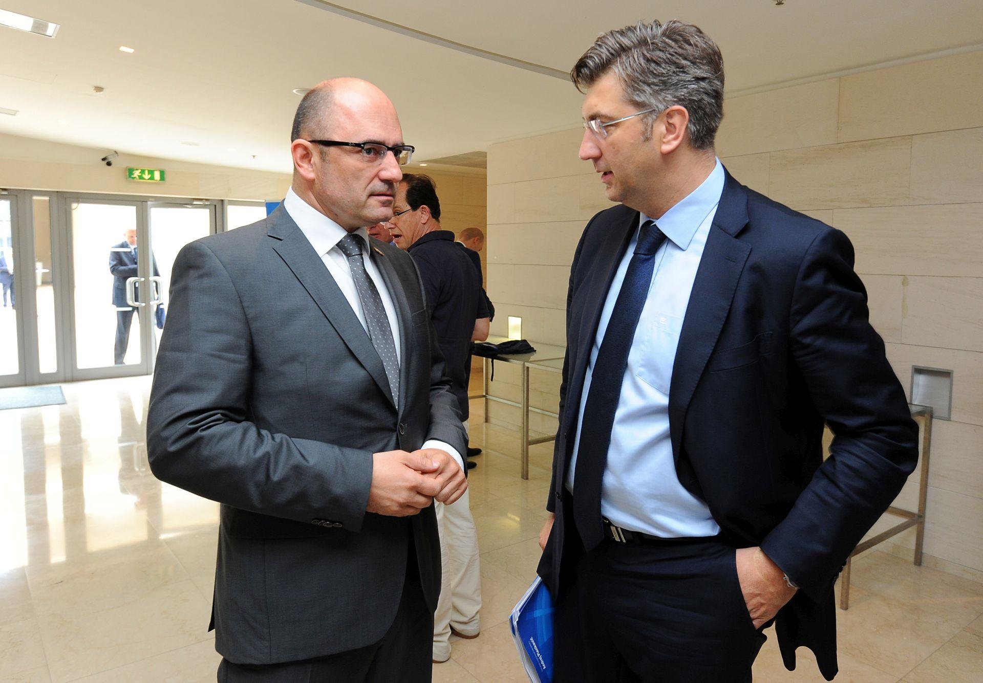 RAT PRIOPĆENJIMA: HDZ nije demantirao da Predsjedništvo nije znalo za pozajmicu, Plenković traži očitovanje