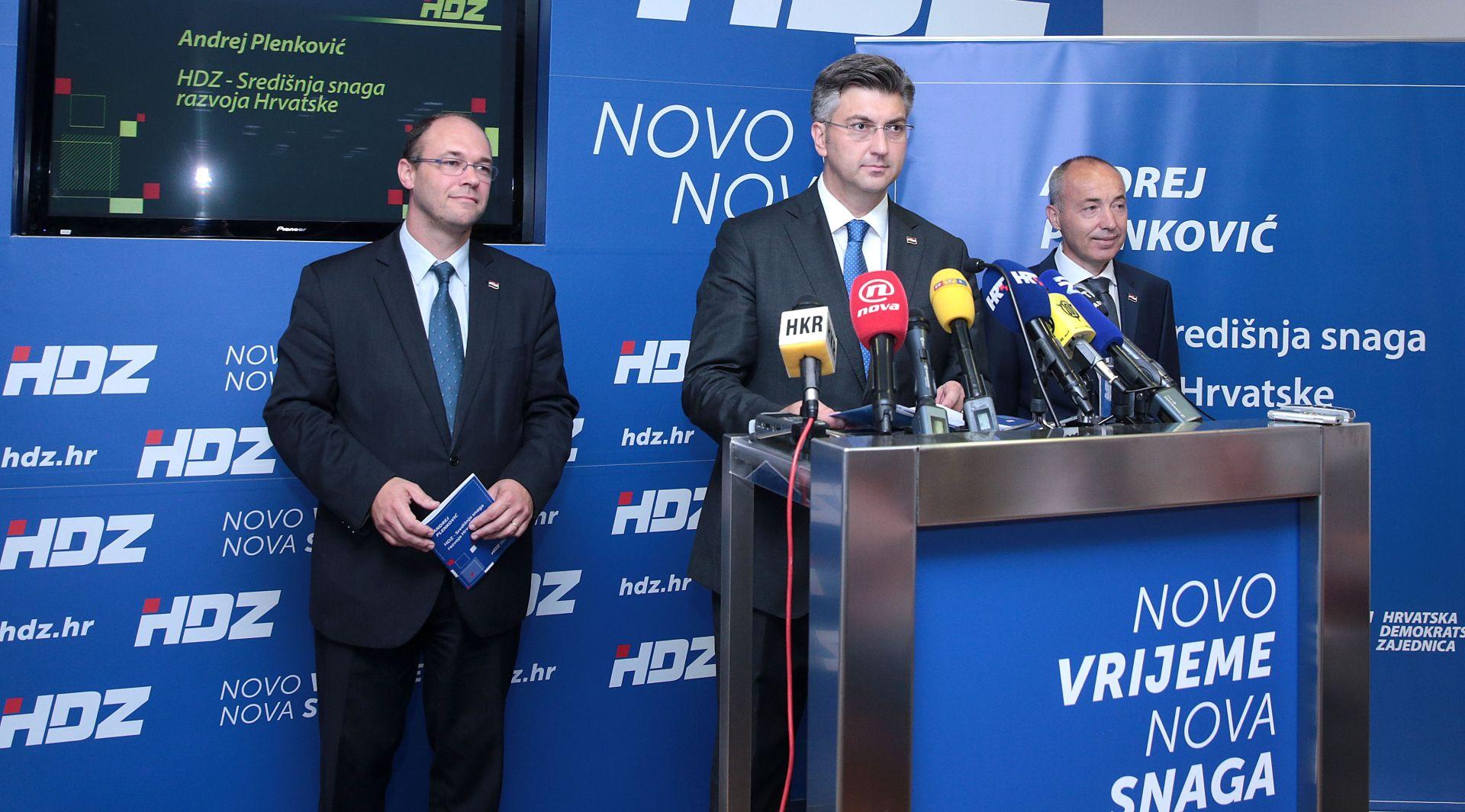 Plenković: Želim da HDZ u hrvatskom društvu generira političku stabilnost
