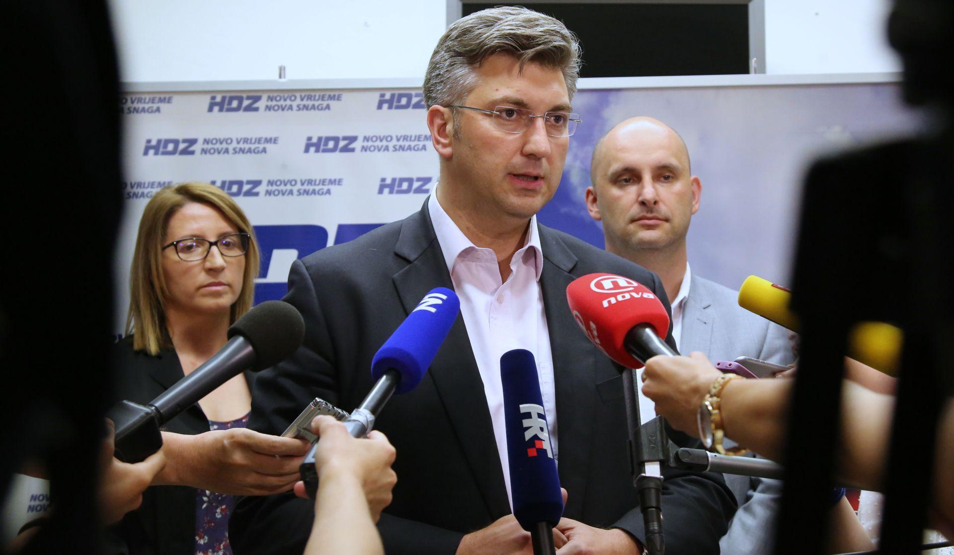ANDREJ PLENKOVIĆ: 'Za stranku ću odgovarati nakon unutarstranačkih izbora'