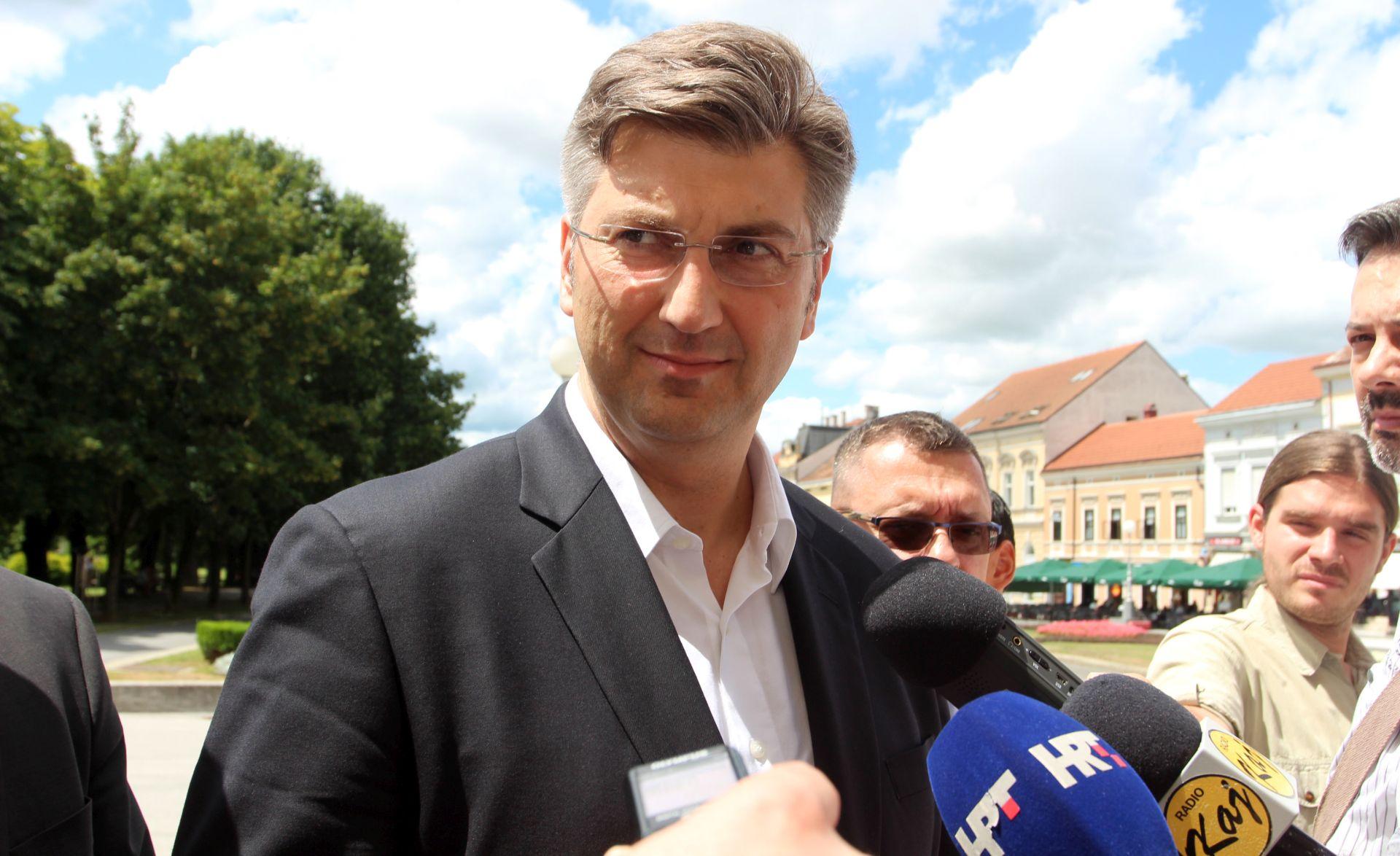 Plenković smatra kako je glavna zadaća europskih čelnika vraćanje povjerenja u europski projekt