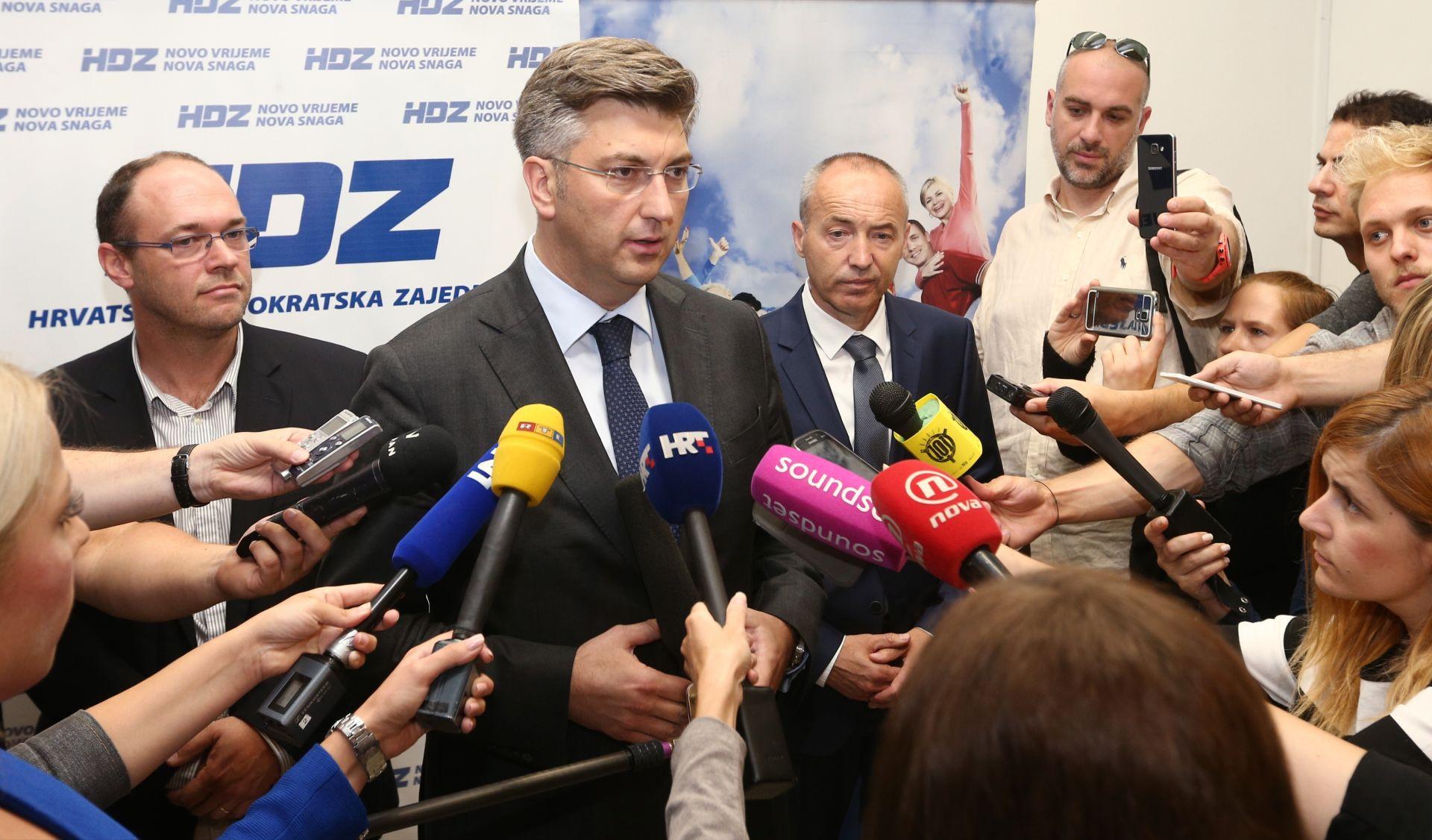 PREDSJEDNIŠTVO HDZ-a: Plenković o predstojećim izborima, mogućem novom premijeru i pozajmicama