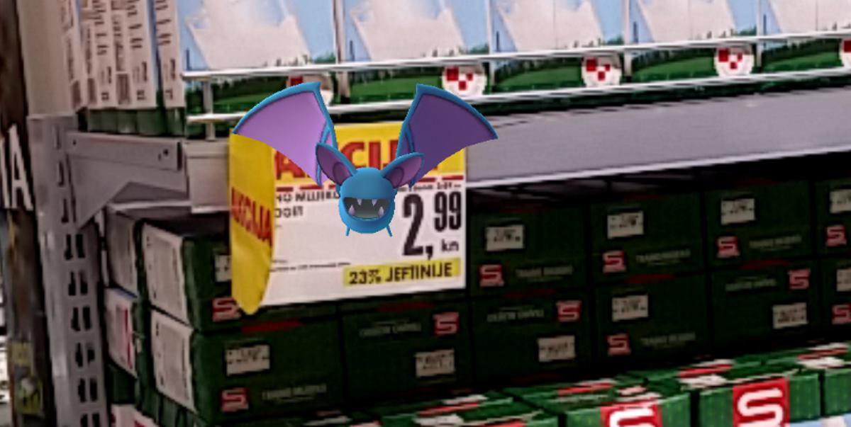 FOTO: Pokemoni viđeni i ulovljeni u zadarskom Intersparu!
