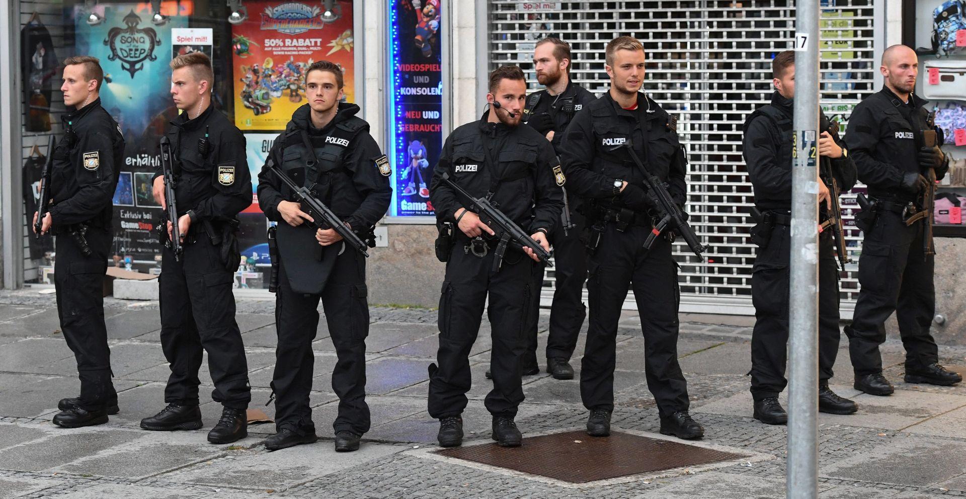 Strah od napada prazni manifestacije po Njemačkoj