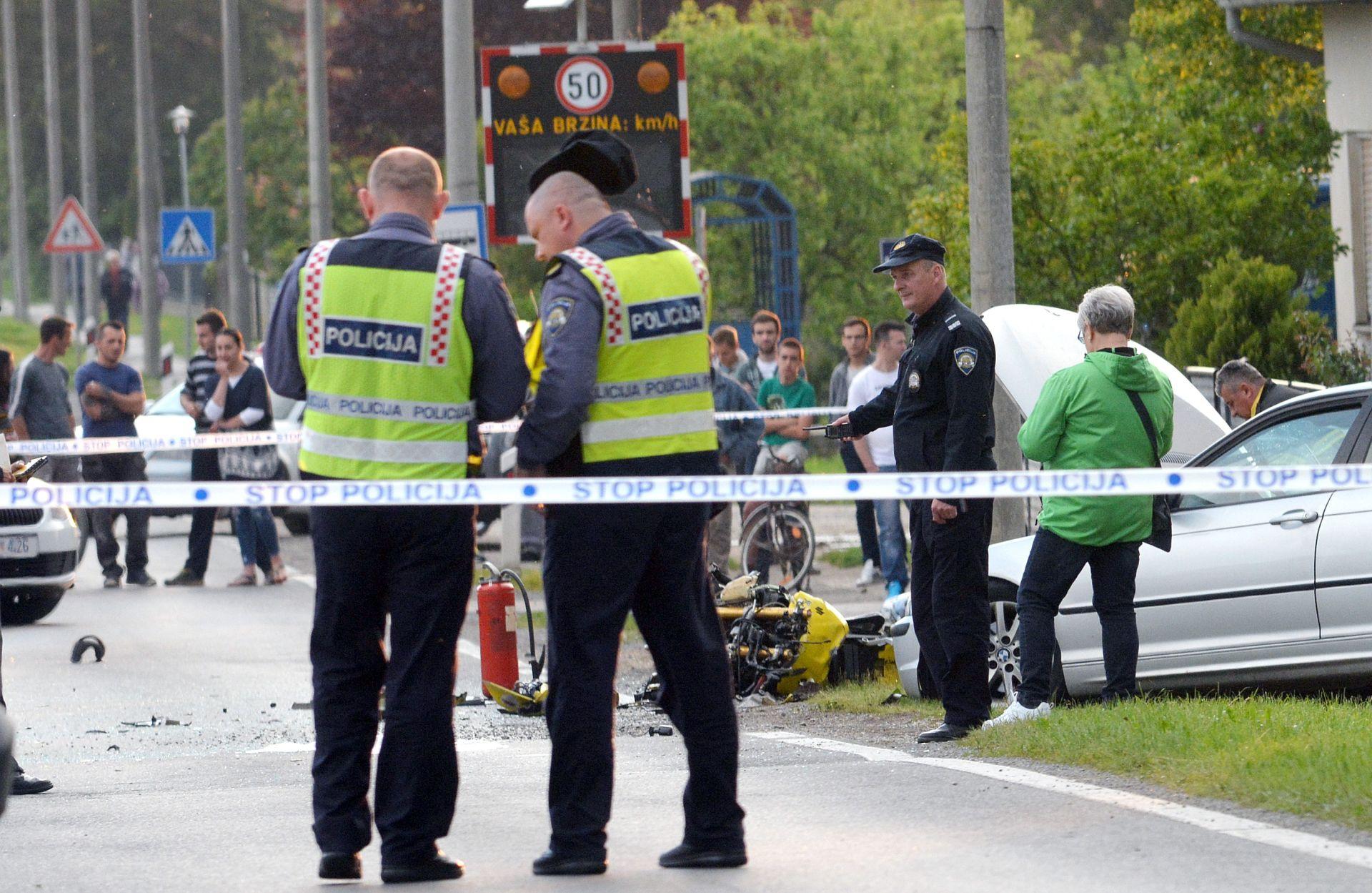 PROMETNA NESREĆA: Na cesti Pula-Rijeka poginuo njemački motociklist