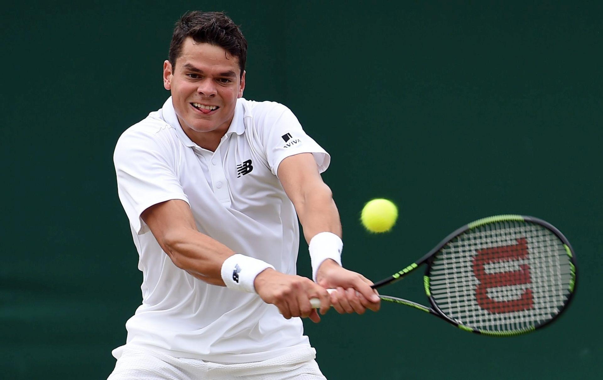 Wimbledon: Raonić prvi polufinalist