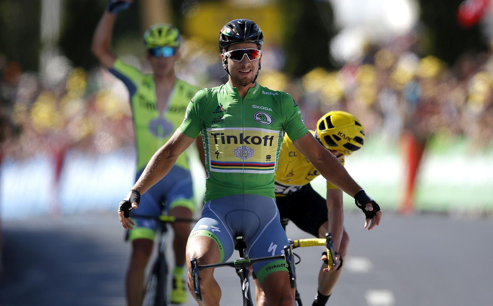 TOUR DE FRANCE: Saganu etapa, Froome i dalje u vodstvu