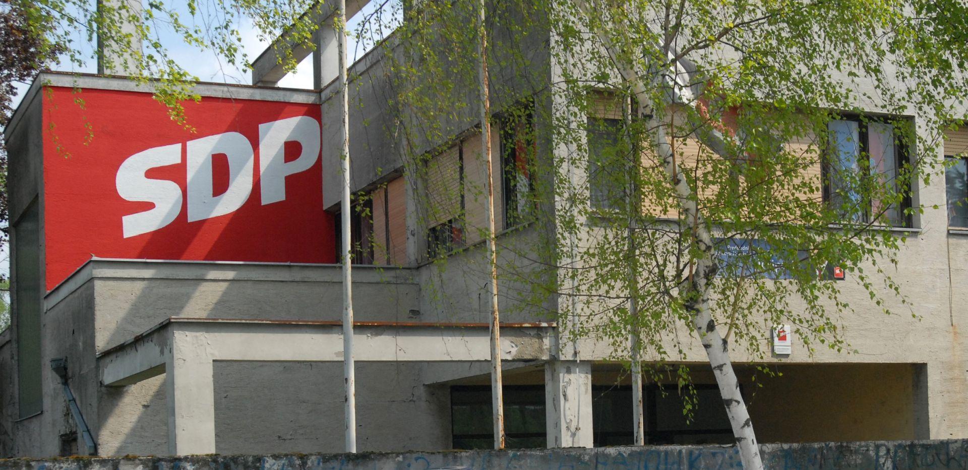 SDP na kampanju do sada potrošio 6, 4 milijuna kuna