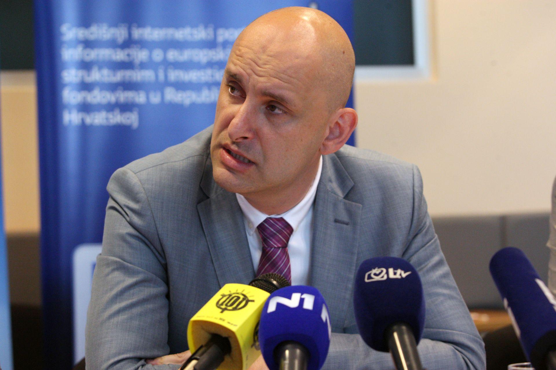 MINISTAR TOLUŠIĆ: O povlačenju sredstava iz EU fondova