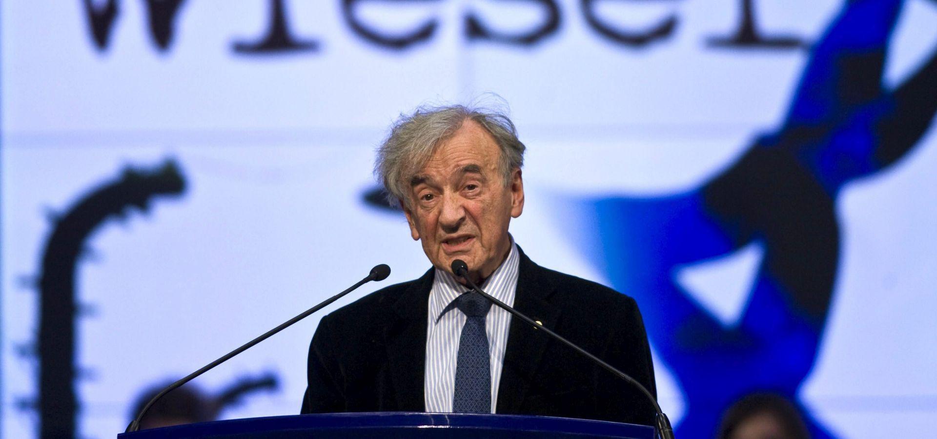 Umro Elie Wiesel, bivši zatočenik Auschwitza i dobitnik Nobelove nagrade