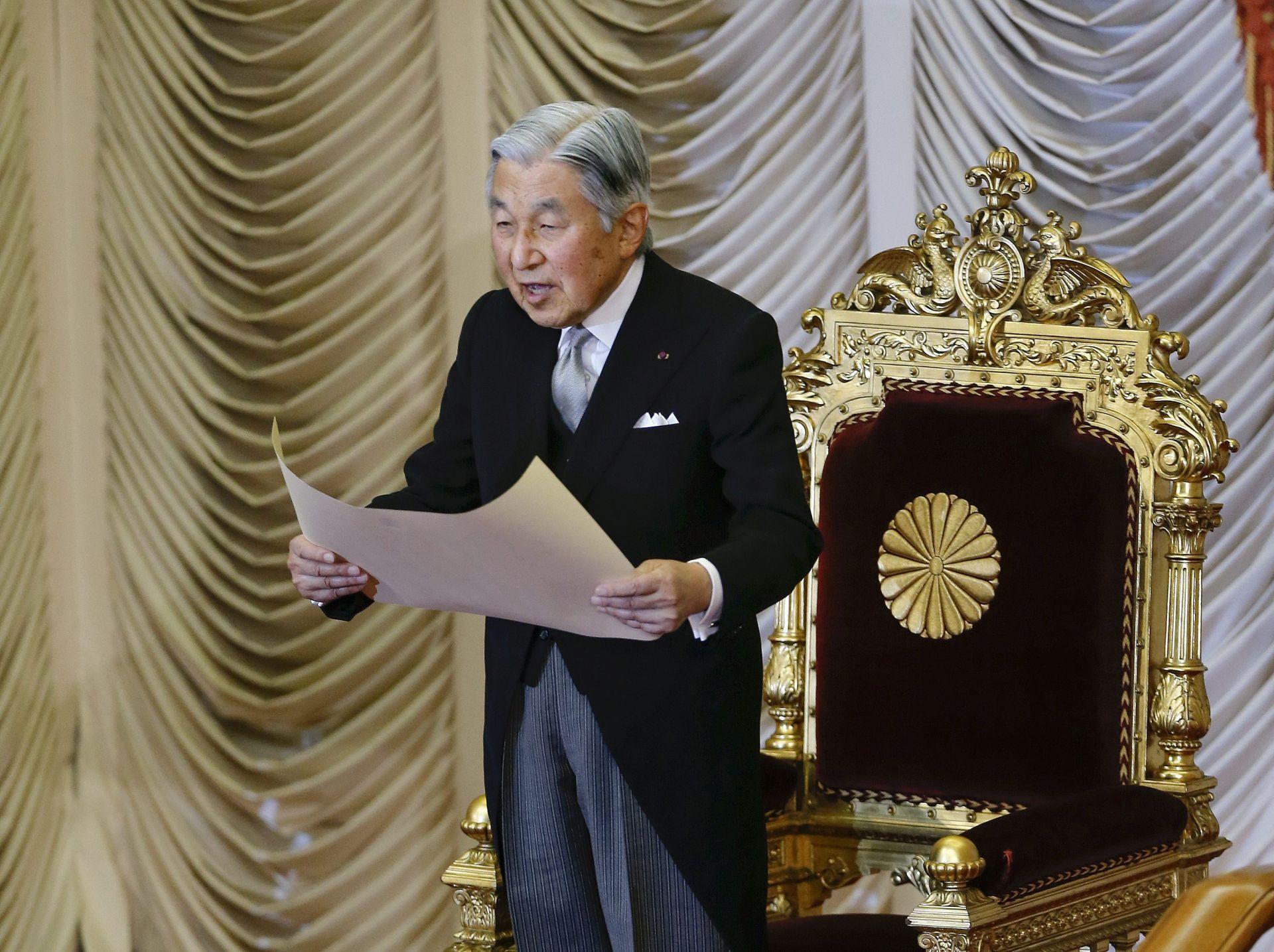 RIJETKA OBRAĆANJA: Japanski car obratit će se javnosti uslijed nagađanja o abdikaciji
