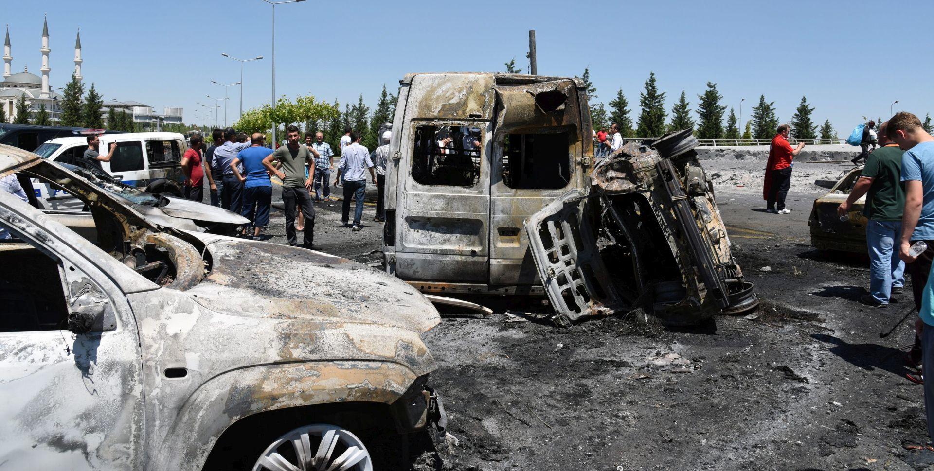 Nekoliko ozlijeđenih u eksploziji na jugoistoku Turske