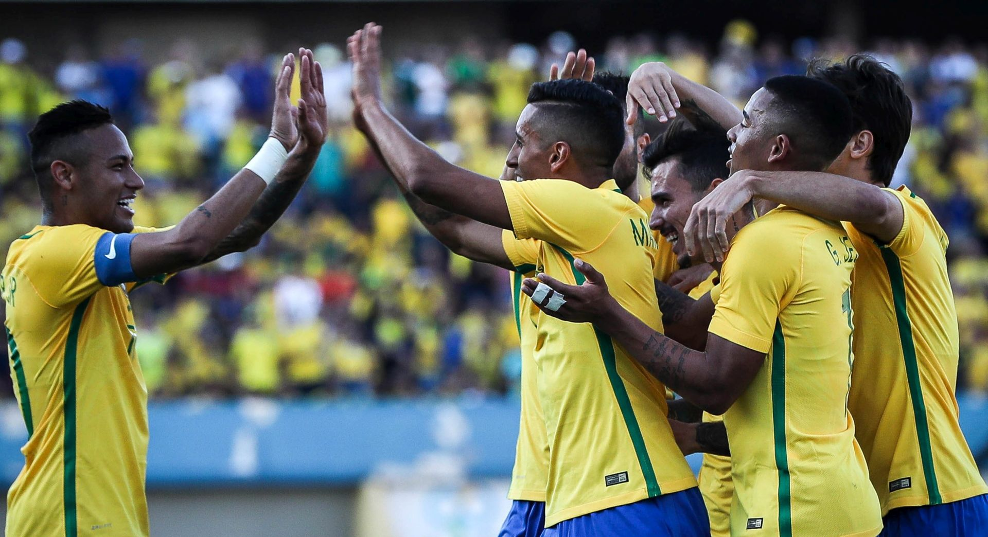 OI NOGOMET Brazil napokon pobijedio, s turnira ispali Argentina i Meksiko