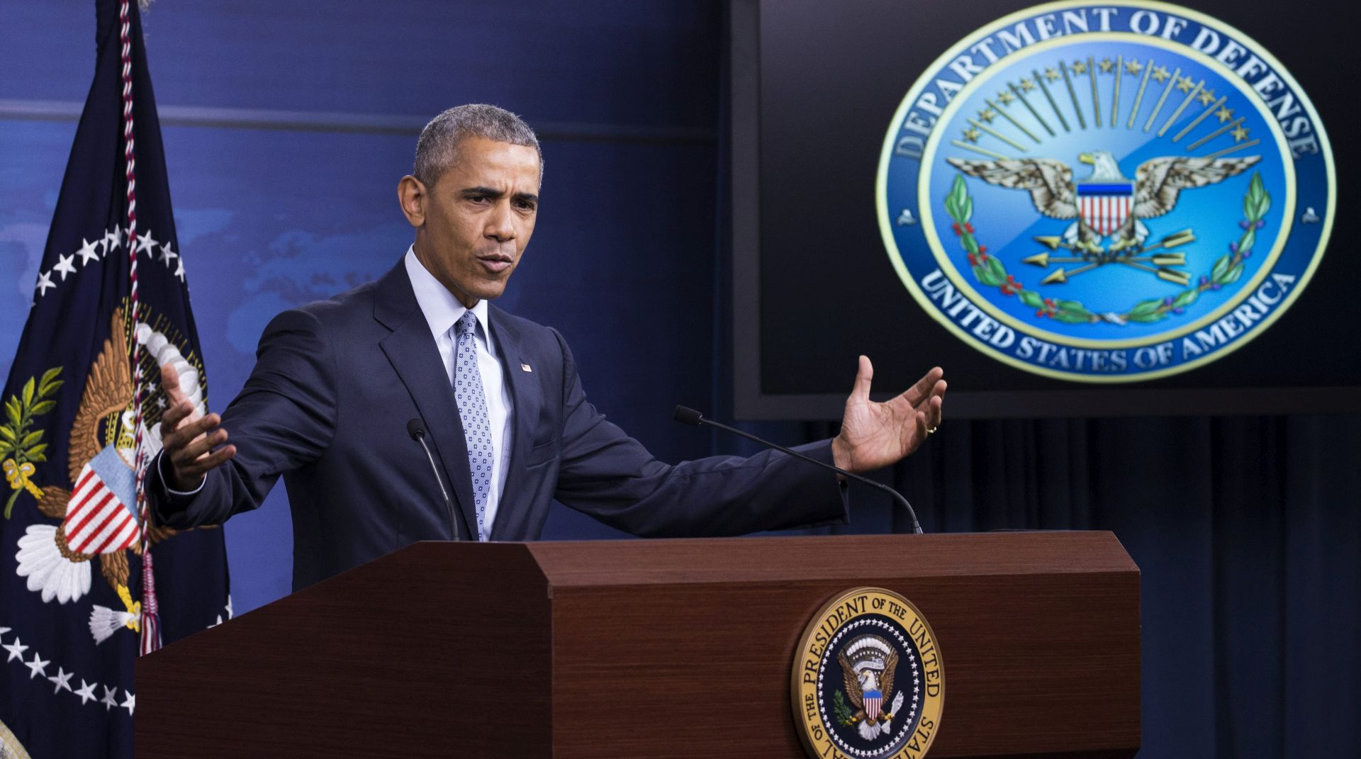 """OBAMA """"Islamska država i dalje predstavlja veliku prijetnju, ali doživjet će konačan poraz"""""""