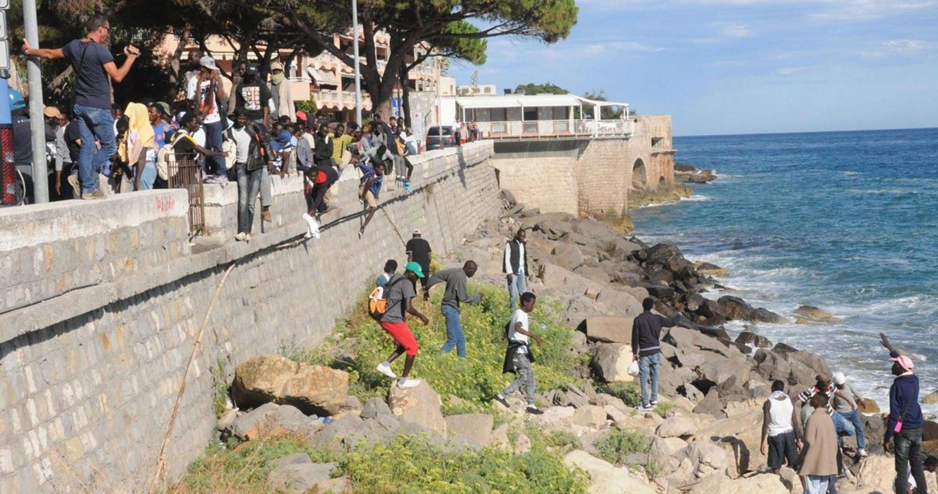 Švicarsko-talijanska granica postala žarište europske migrantske krize