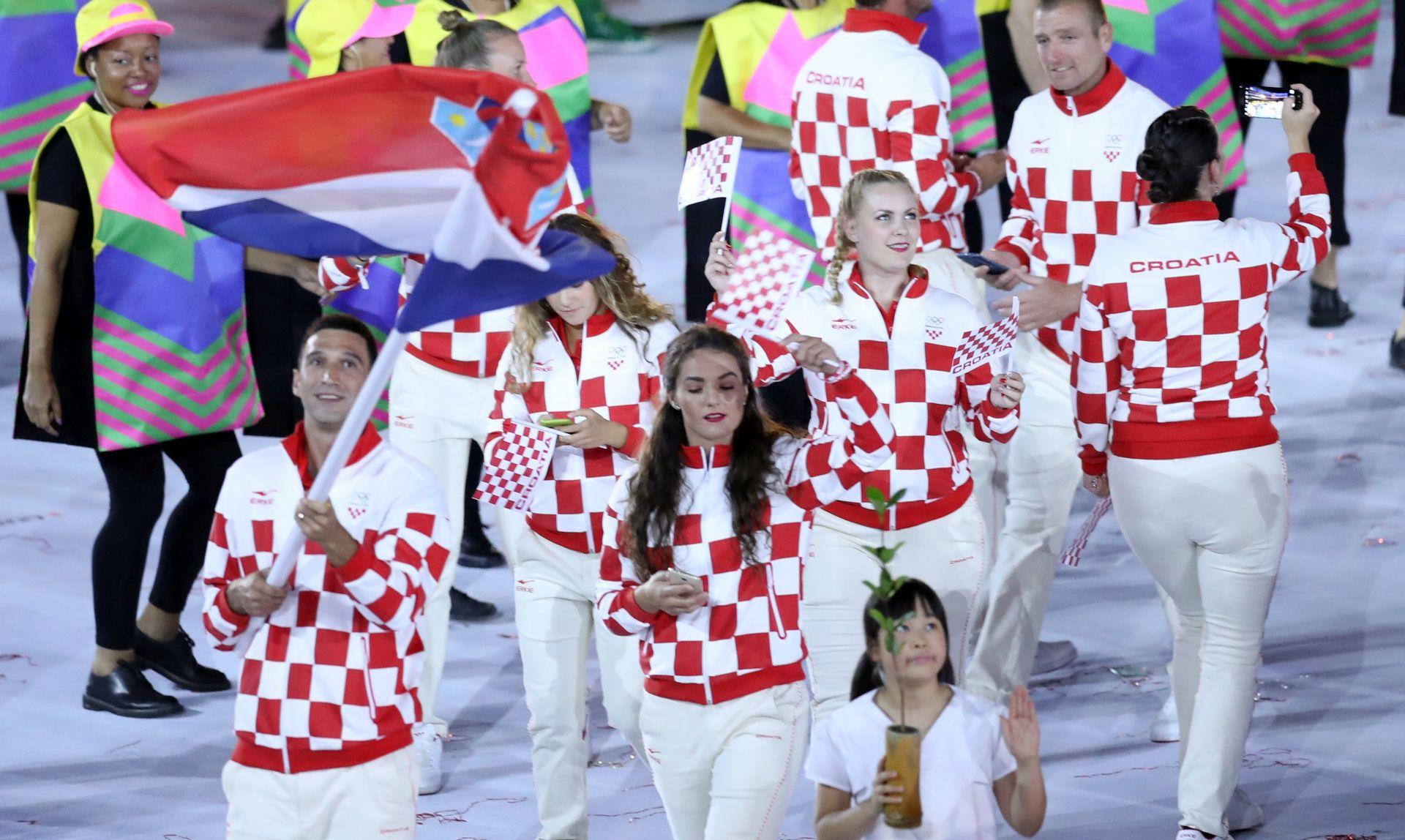 OD IVANIŠEVIĆA DO PAVIĆA Ovi sportaši nosili su hrvatsku zastavu na otvaranjima Olimpijskih igara