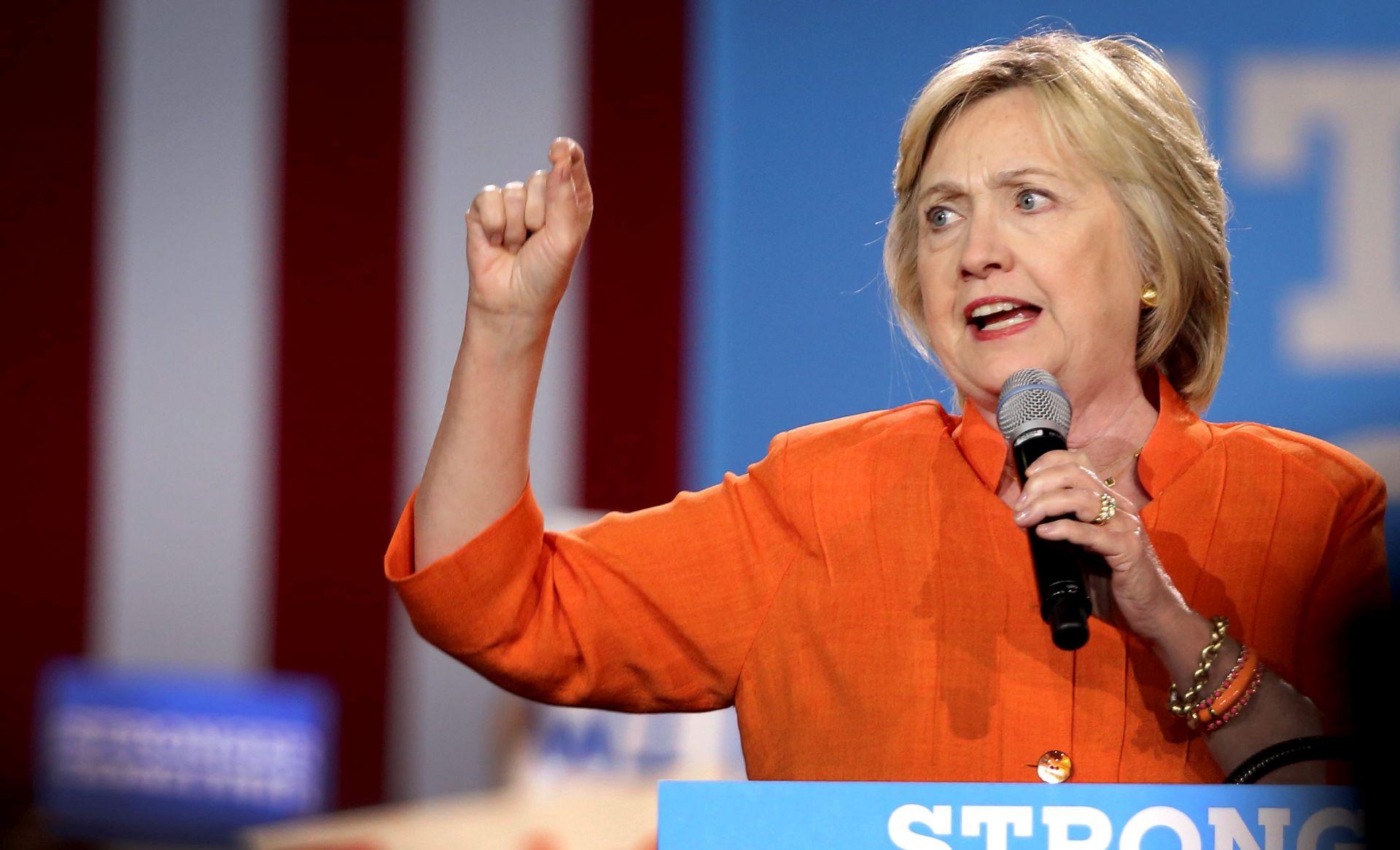 PREDSJEDNIČKI IZBORI: Clinton nastavlja kampanju u petak