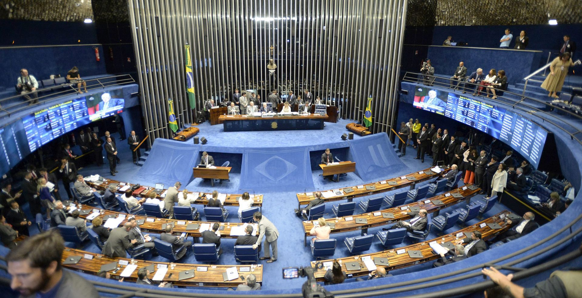 BRAZIL Senat podržao postupak o opozivu Dilme Rousseff
