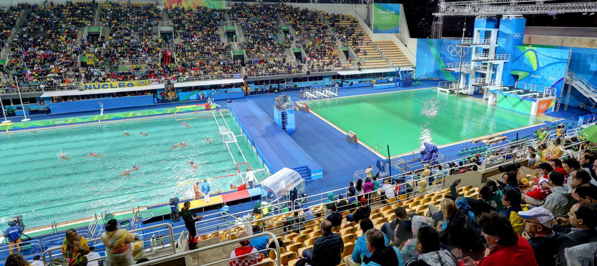 OI RIO Nakon plivačkog, pozelenio i bazen za vaterpolo