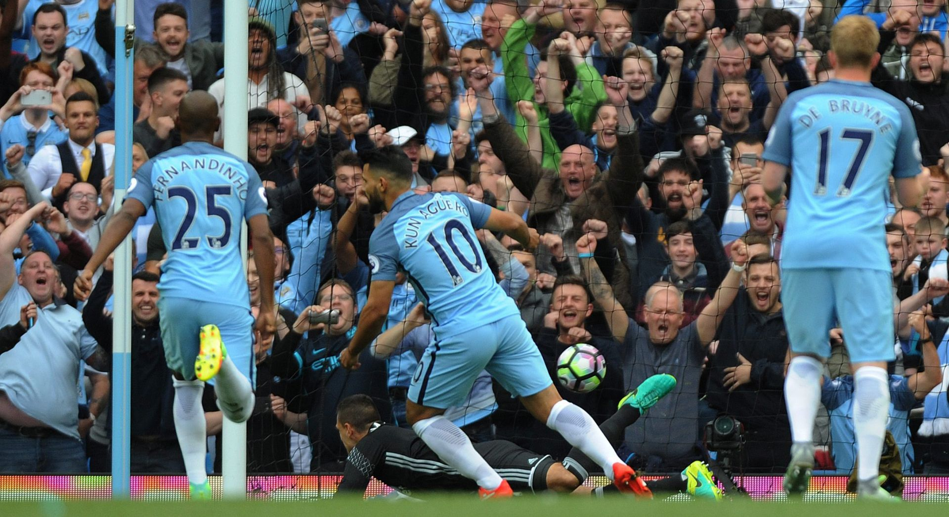 VIDEO: City bolji od Stokea, po dva pogotka Aguera i Nolita