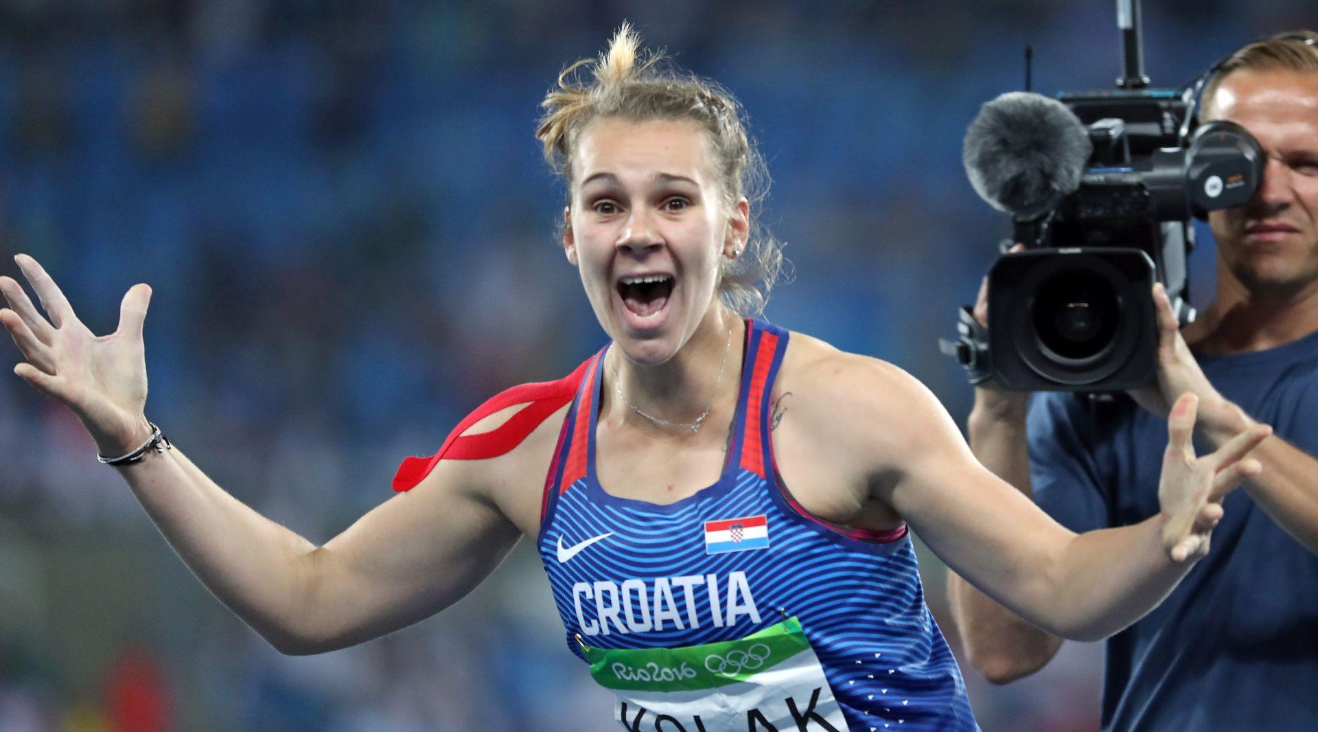 OI ATLETIKA Sara Kolak u finale koplja s trećim rezultatom kvalifikacija i novim hrvatskim rekordom