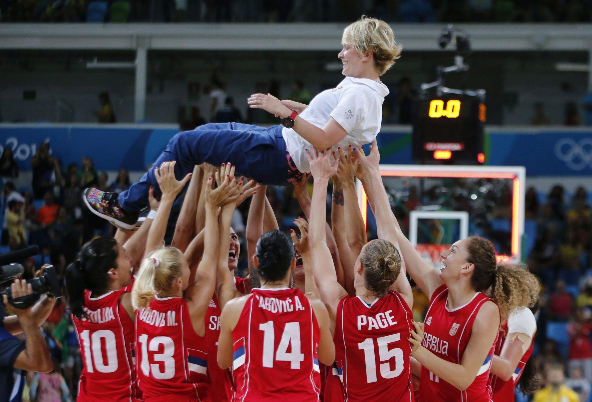 OI RIO Srpske košarkašice osvojile broncu