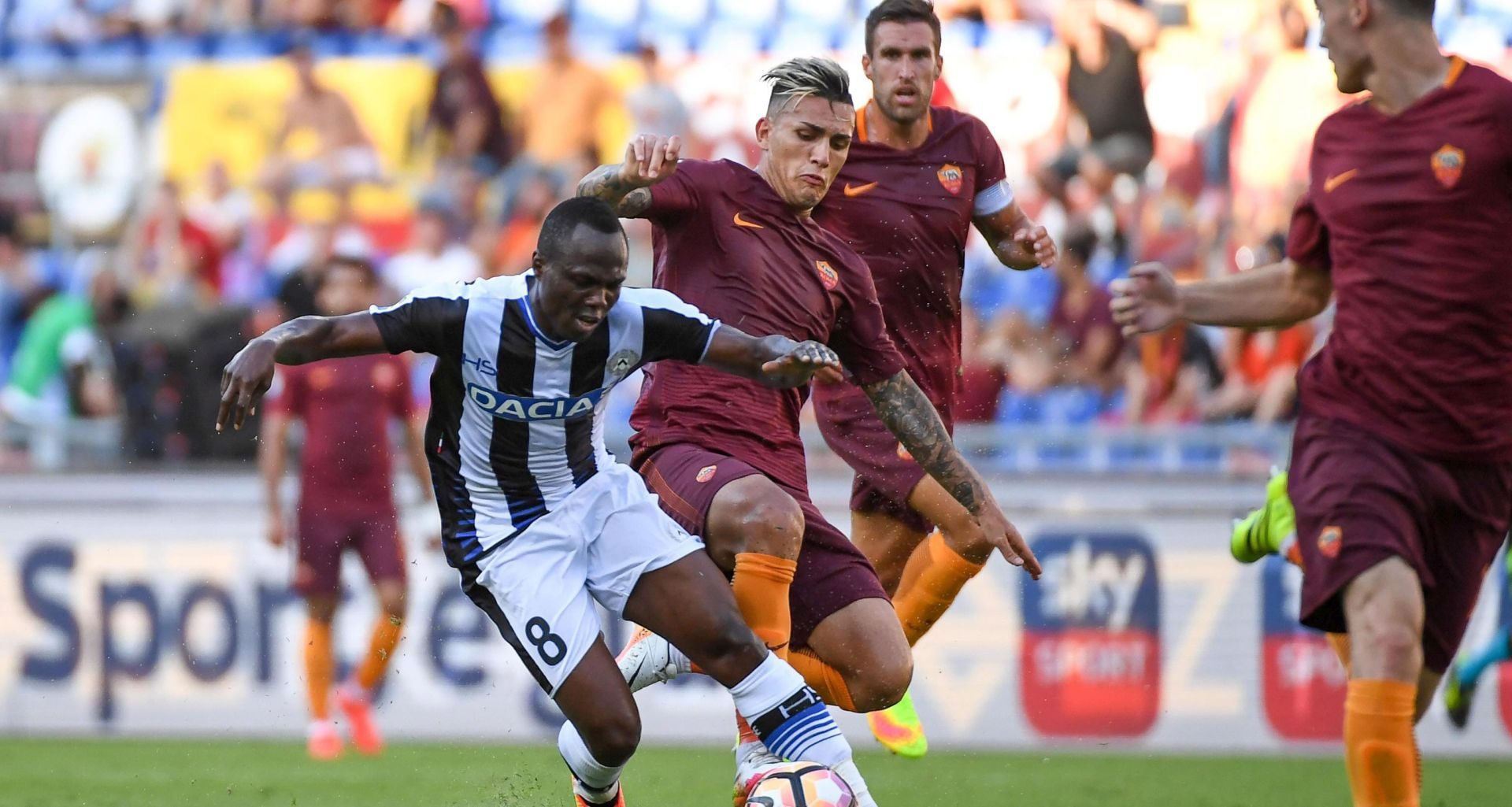 STARTALA SERIE A Roma na otvaranju nove sezone 'razbila' Udinese