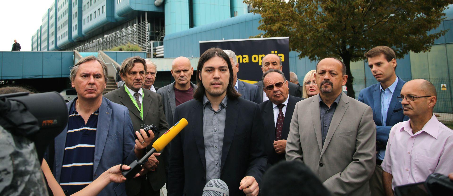 """Koalicija """"Jedina opcija"""" predstavila program za zdravstvo i kandidate u 2. izbornoj jedinici"""