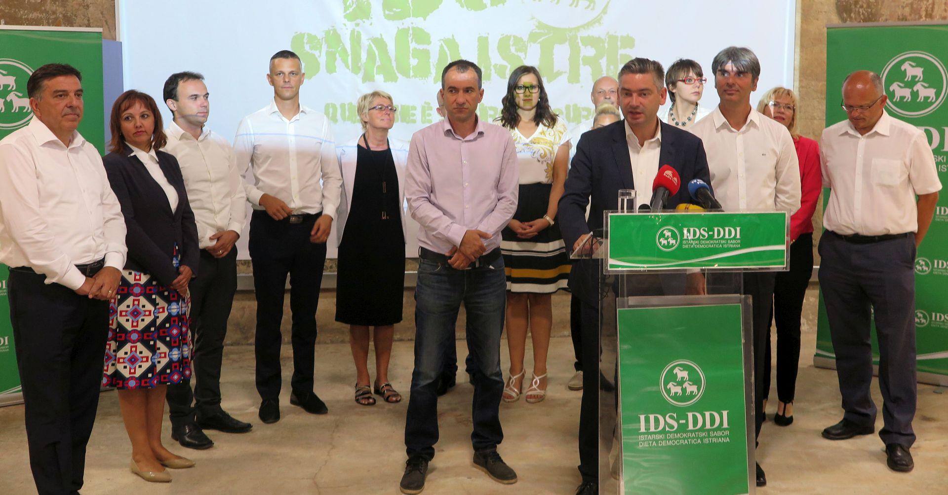 """Predstavljen program """"Za još jaču Istru"""" koalicije IDS-PGS-RI"""