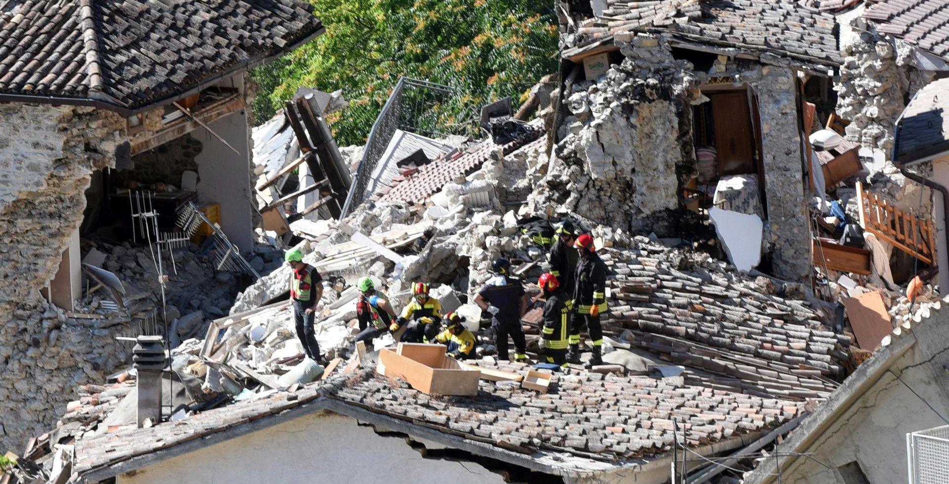 Obnova nakon potresa u Italiji stajat će četiri milijarde eura