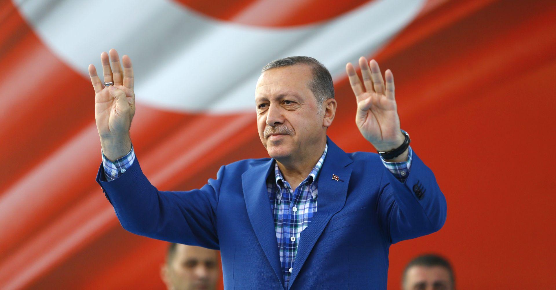 Erdogan rekao da je razgovarao s Putinom i Obamom o Alepu