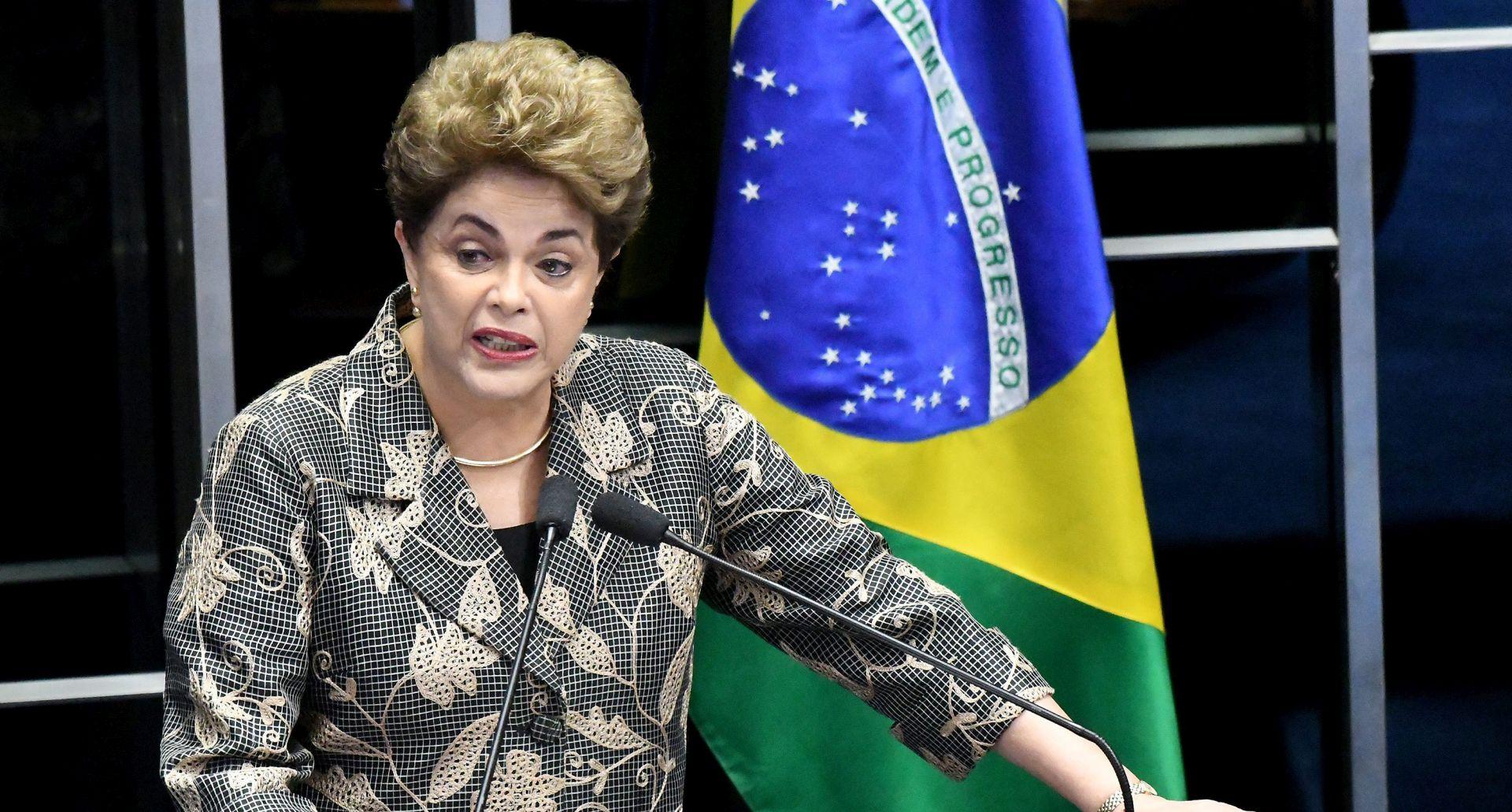 Brazilski senatori raspravljaju o opozivu predsjednice Dilme Rousseff