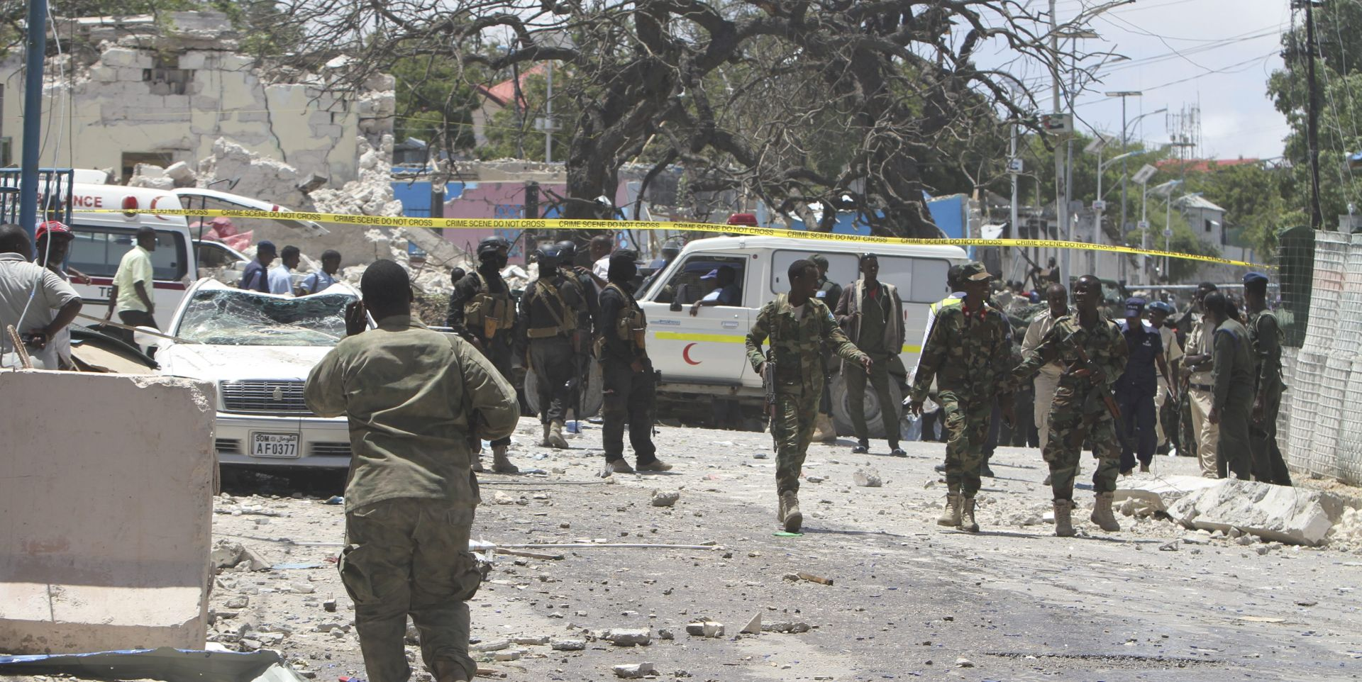 SOMALIJA Najmanje 12 poginulih u eksploziji kamion-bombe
