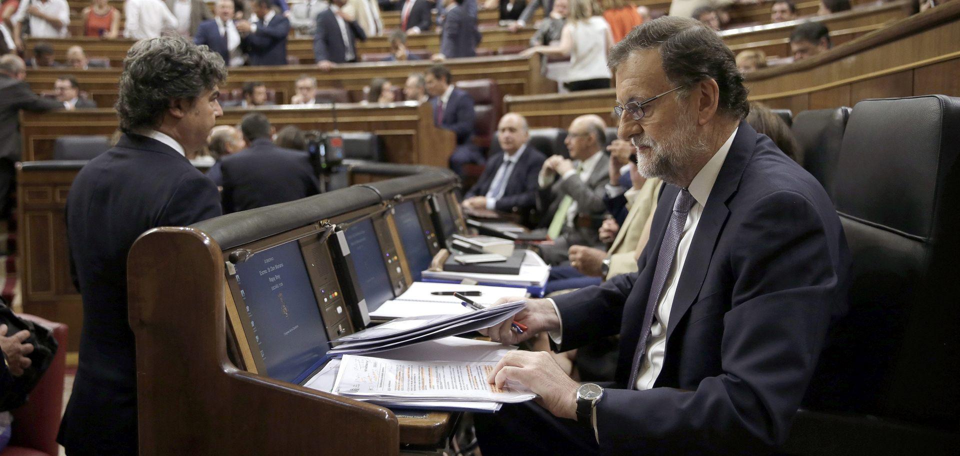 Rajoy nije dobio potporu parlamenta