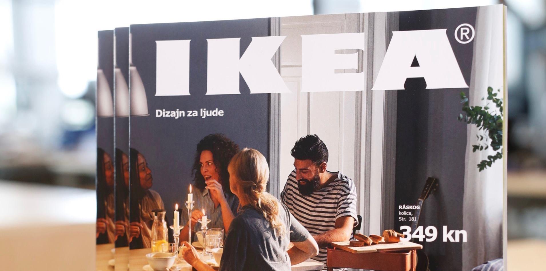 IKEA HRVATSKA Švedska robna kuća predstavlja katalog za 2017. godinu  i novu voditeljicu