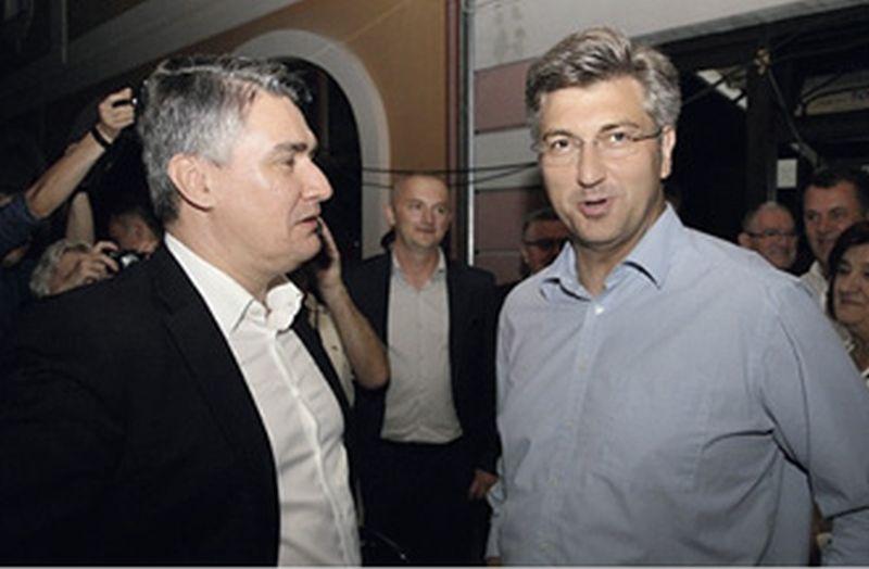 Milanović i Plenković u Novoj Gradiški