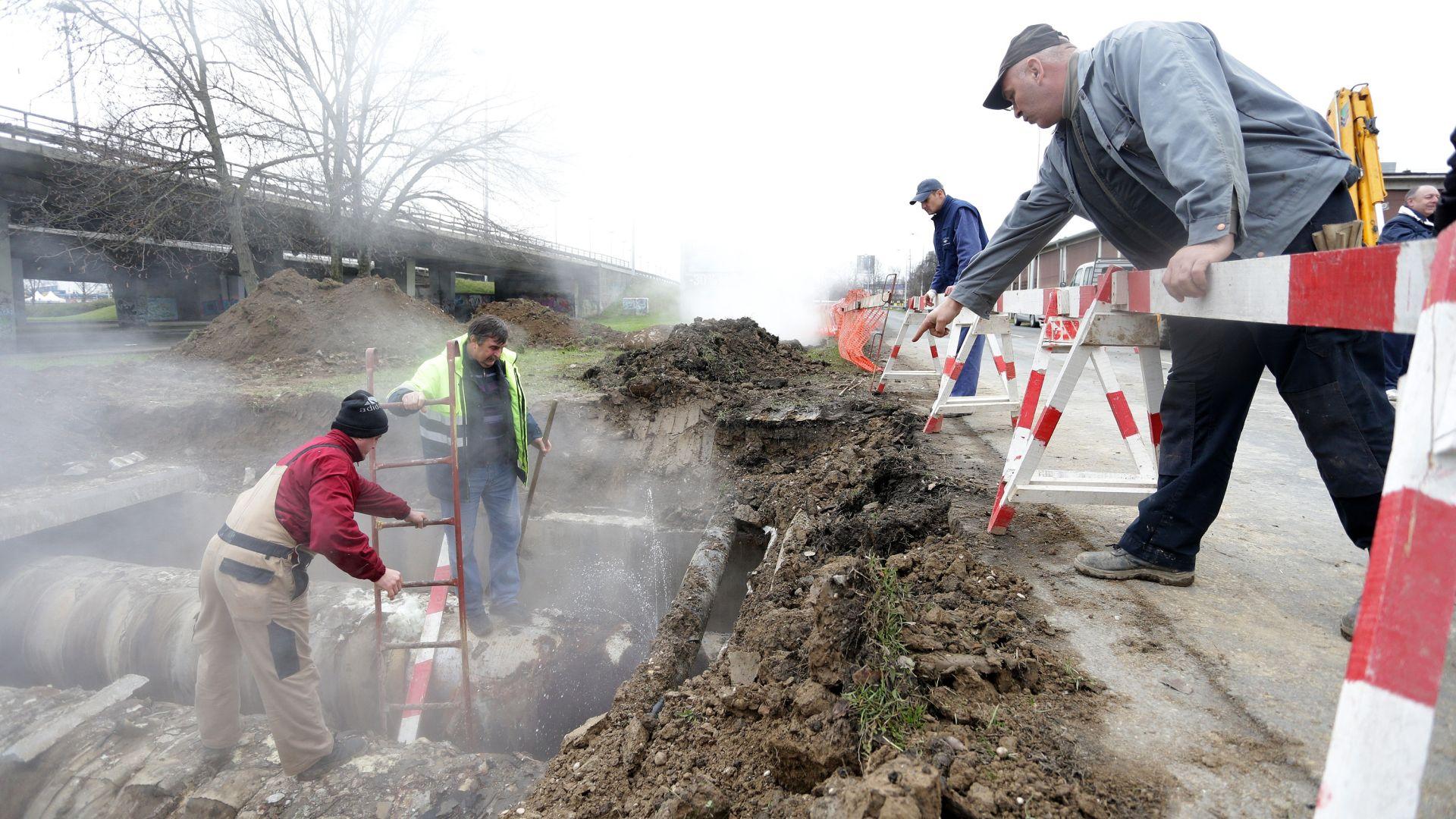 Zbog puknuća vrelovodne cijevi HEP-Toplinarstva u Zagrebu potrošači bez tople vode