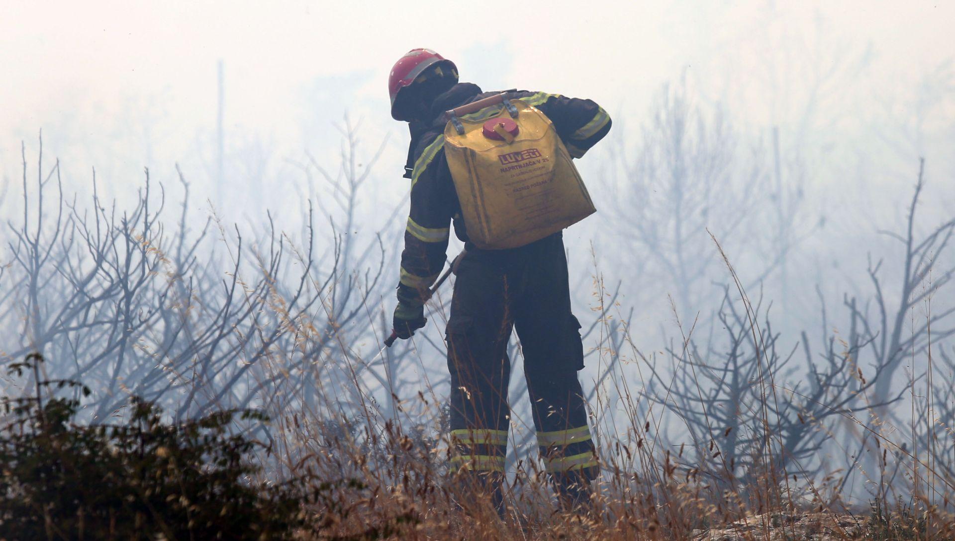 Split: Gromovi izazvali deset požara