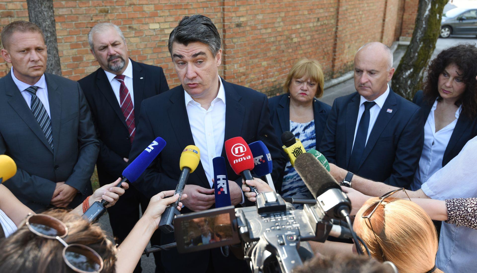 """Milanović o 'lex Perkoviću': """"To nije moj svijet"""""""