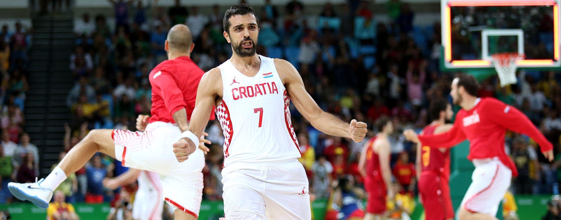 VIDEO: Pogledajte kako su hrvatski košarkaši proslavili pobjedu nad Španjolskom