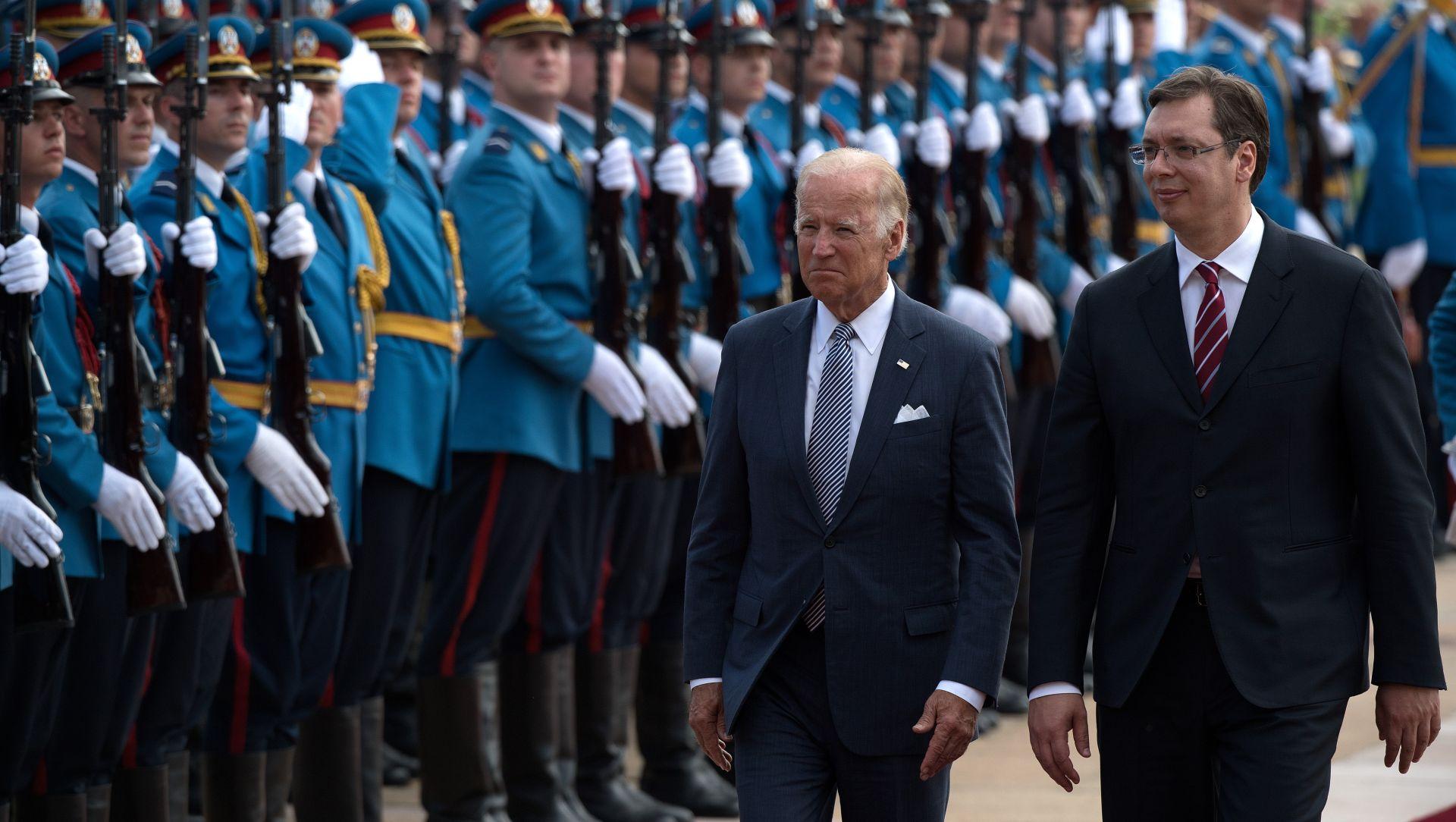 Biden usred Beograda zamijenio Srbiju i Hrvatsku
