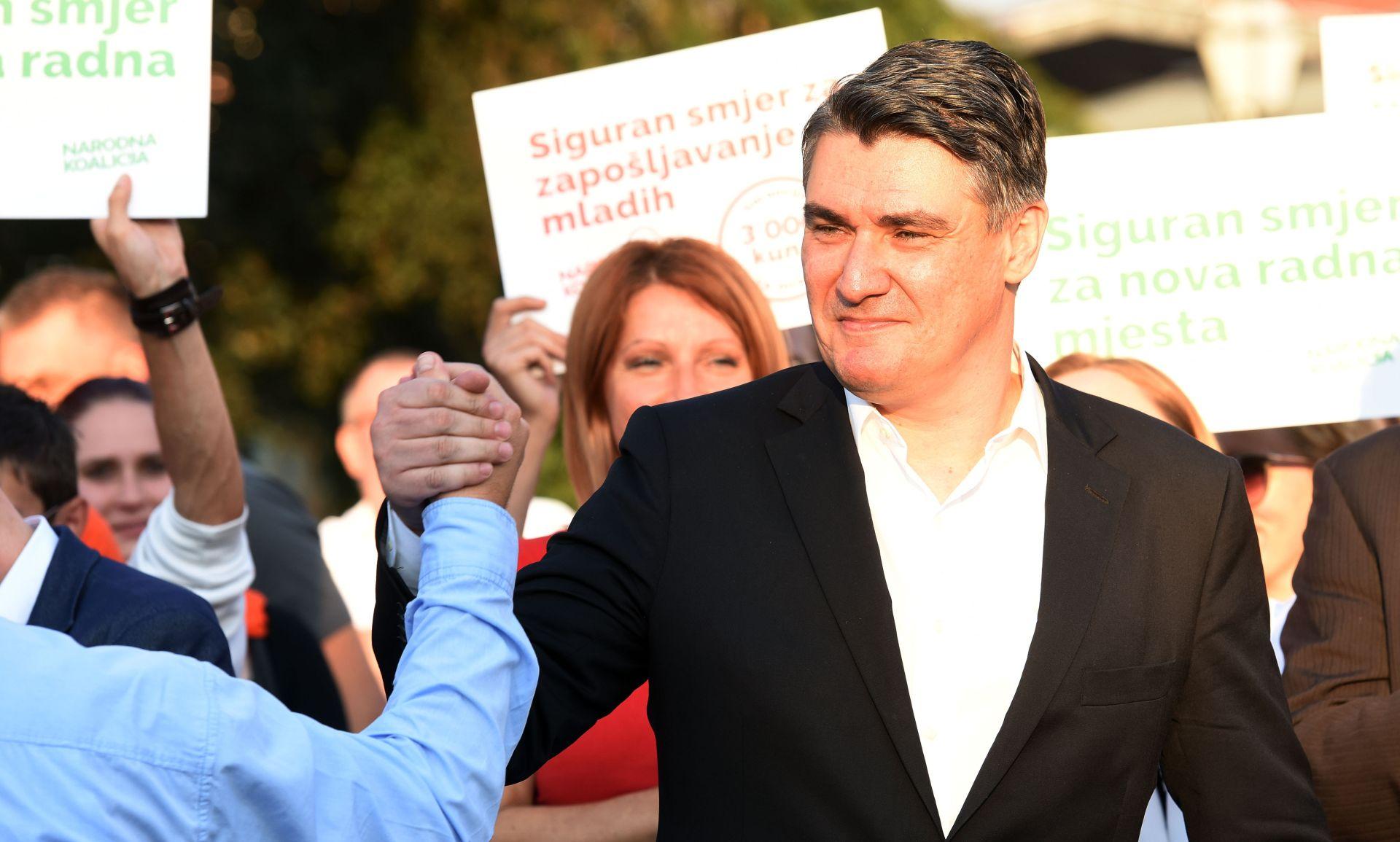 Milanović: Narodna koalicija ima ozbiljan program i ljude s iskustvom