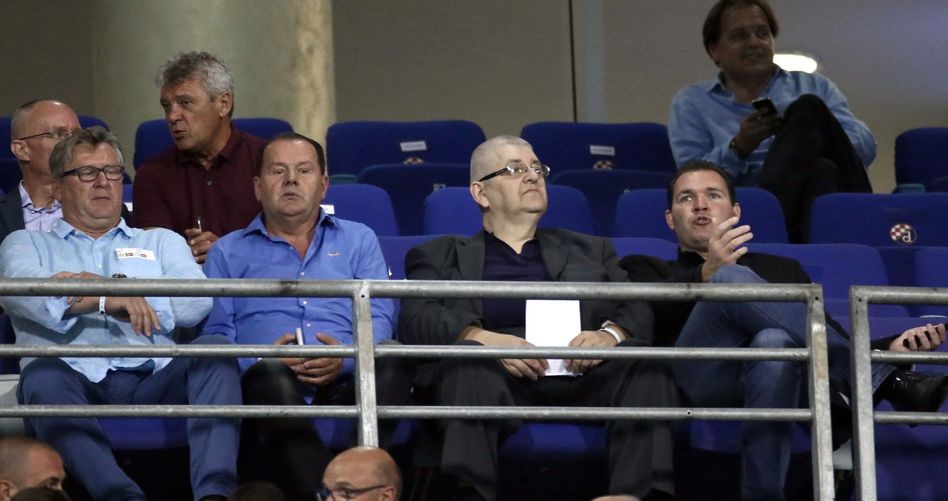 Suci zagrebačkog Županijskog suda u VIP loži Mamićeva Dinama