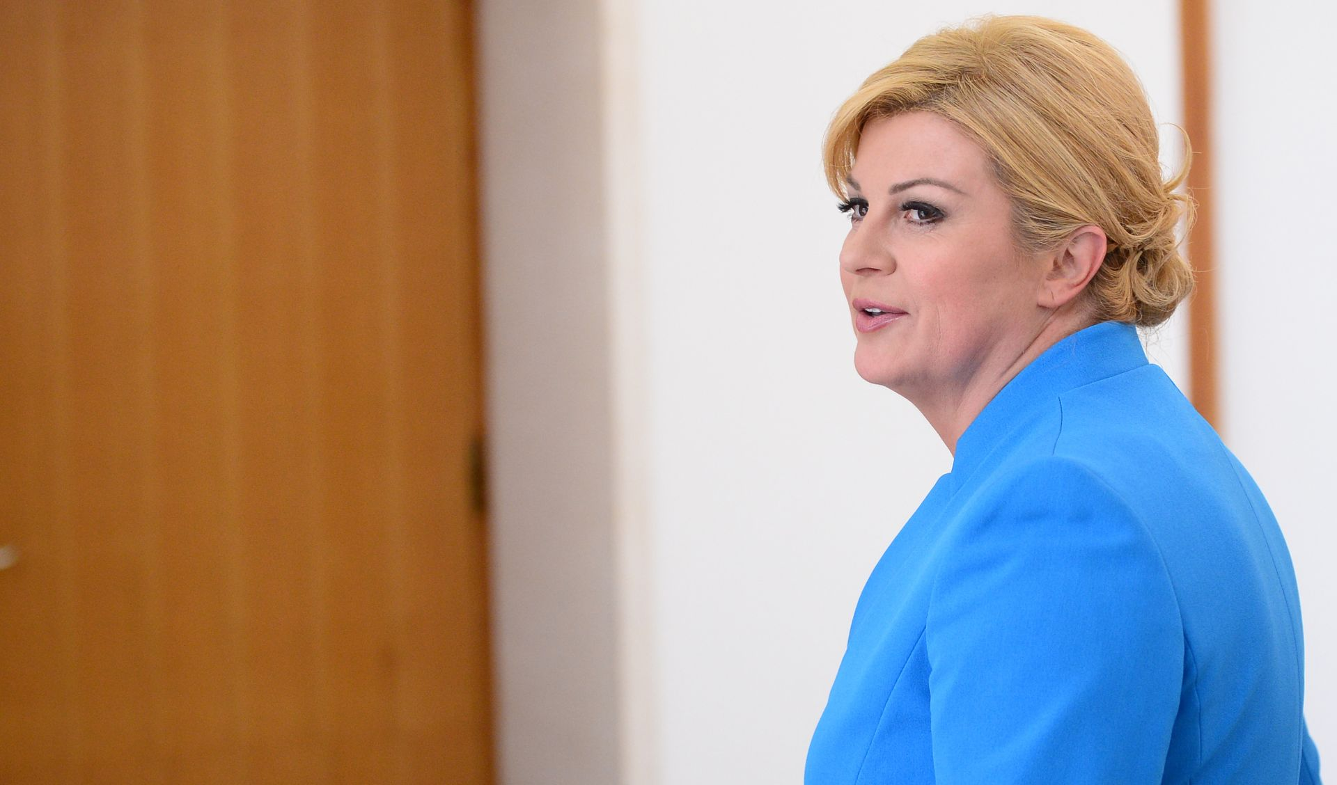 Grabar-Kitarović okončala posjet Međugorju, bila i na raftingu na Neretvi