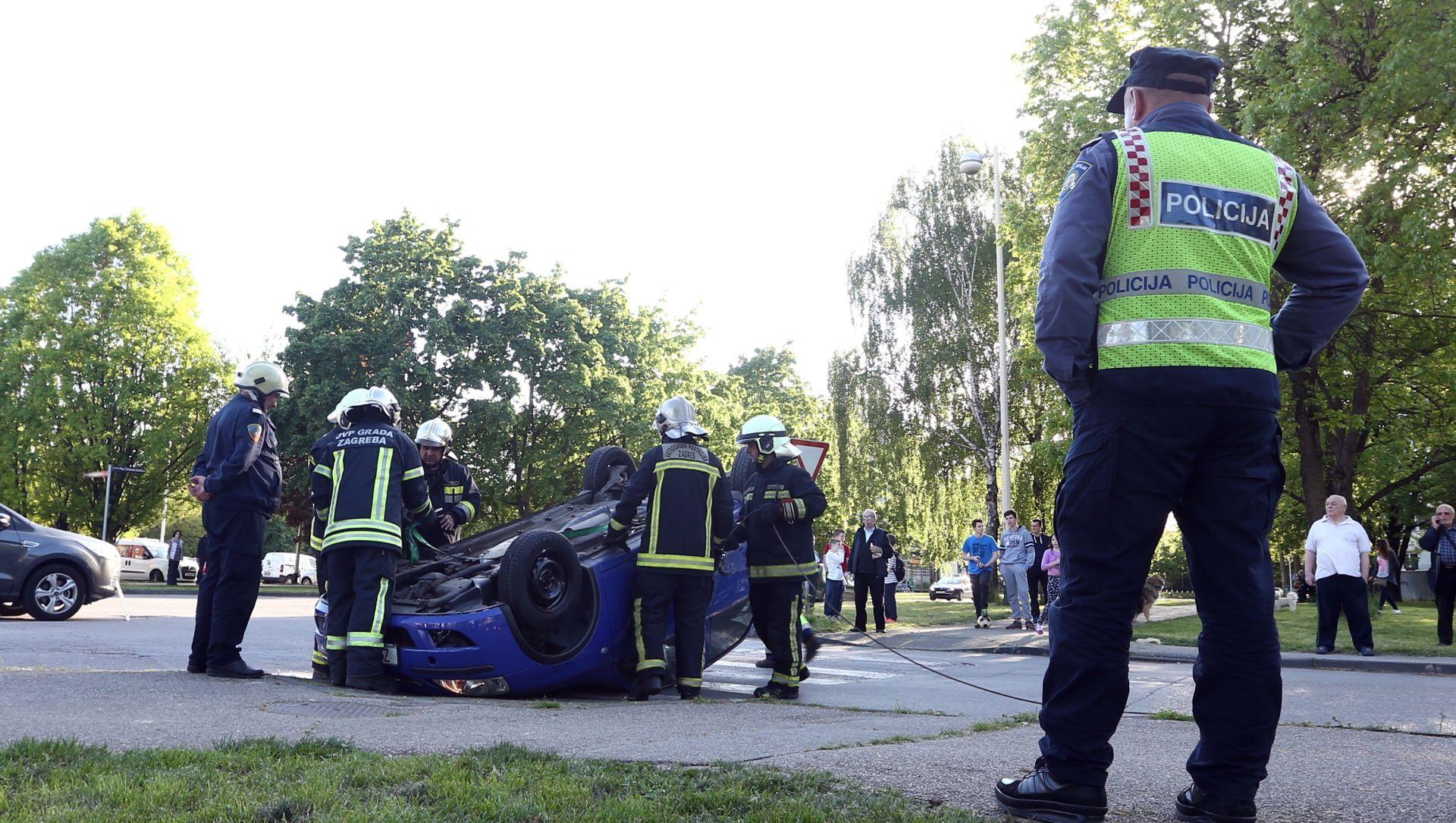 ZAGREBAČKA POLICIJA Porast broja poginulih u prometnim nesrećama