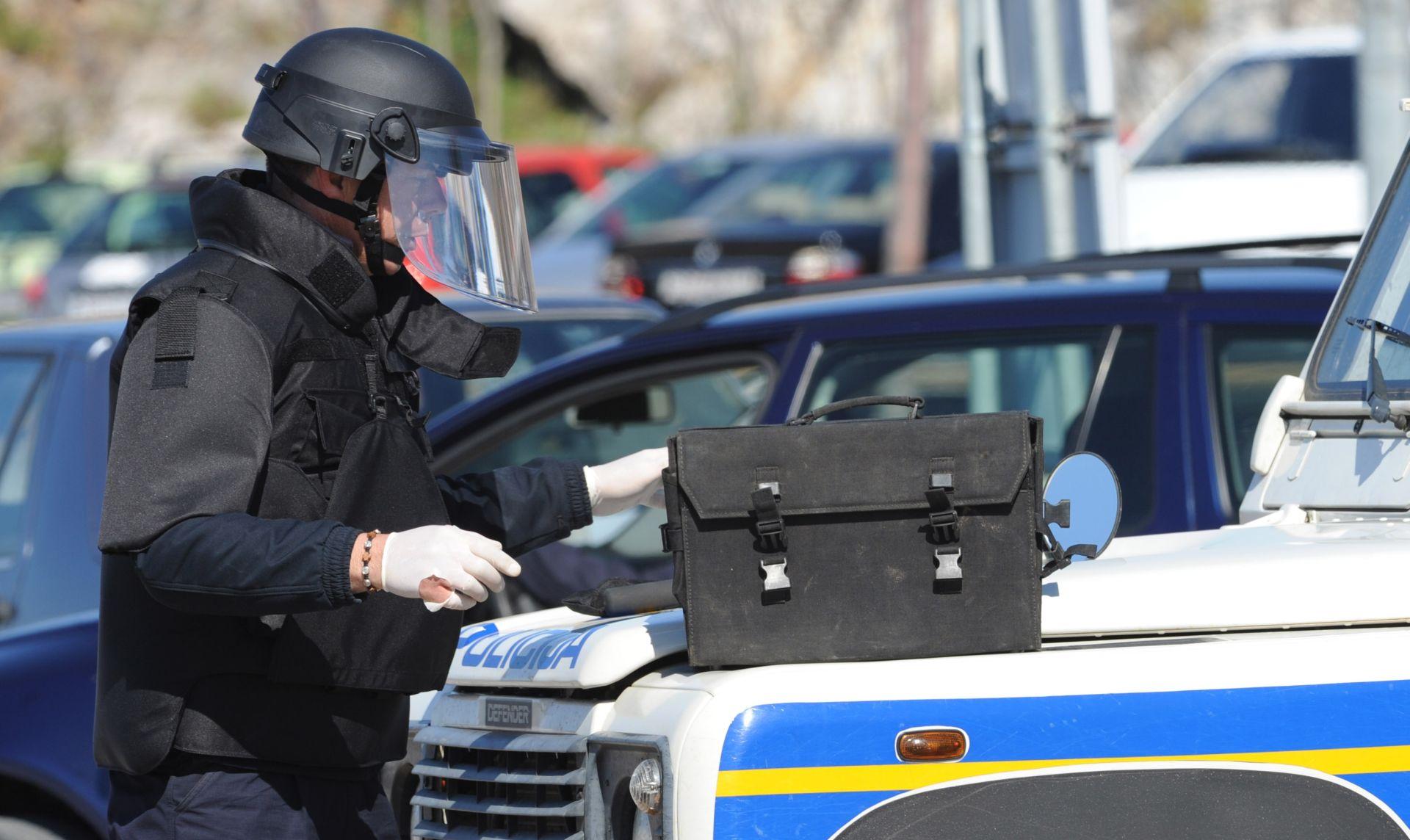 VARAŽDIN Dojava o bombi, evakuirana zgrada suda