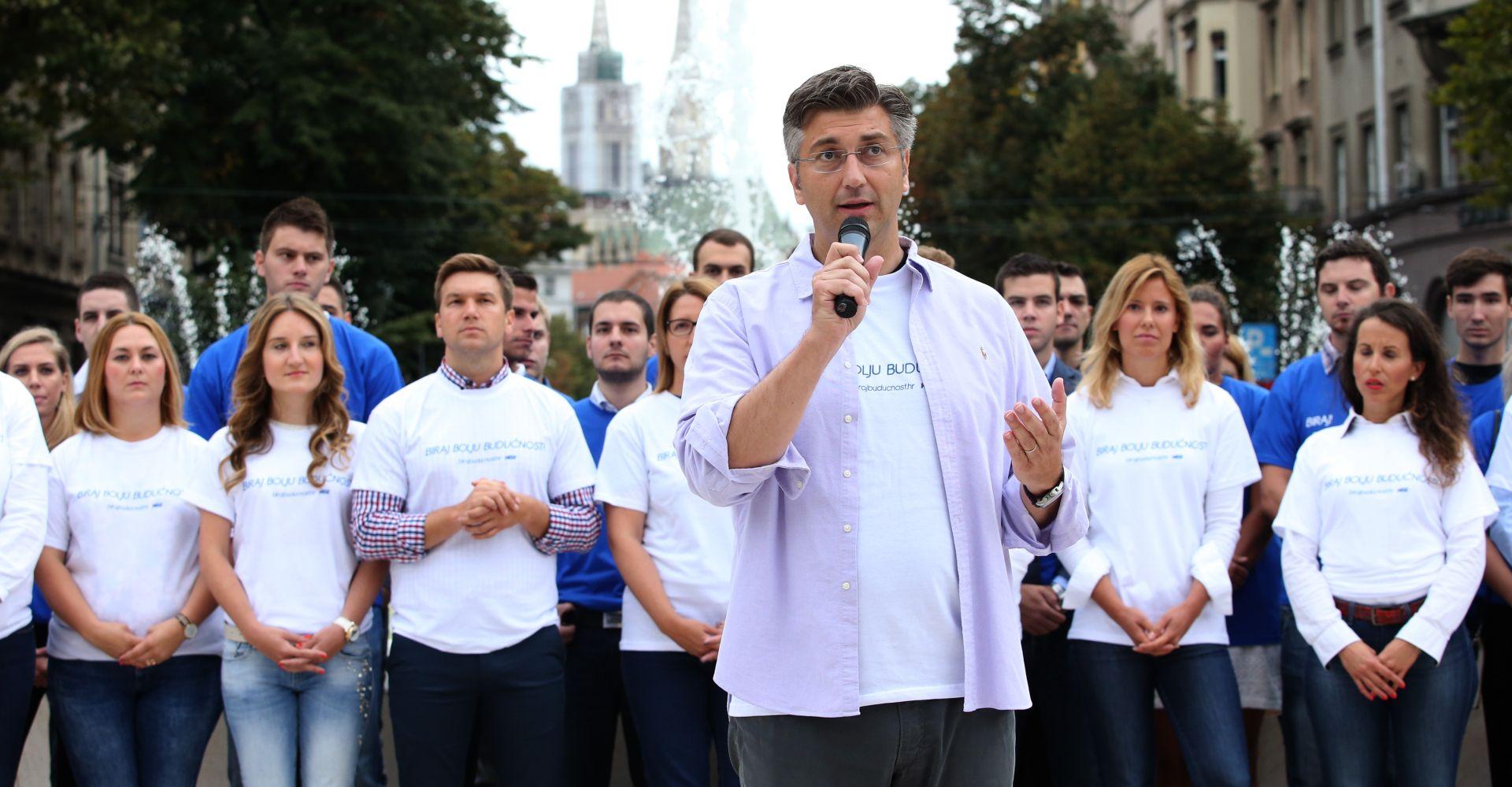 """VIDEO: PLENKOVIĆ """"Ako Most bude relativni pobjednik izbora, neka Petrov bude premijer"""""""