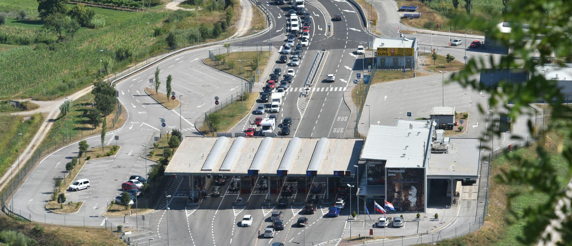 HAK Gužve na hrvatskim cestama, kolona na Lučkom 2 kilometra, na GP Kaštel i Plovanija 5 kilometra