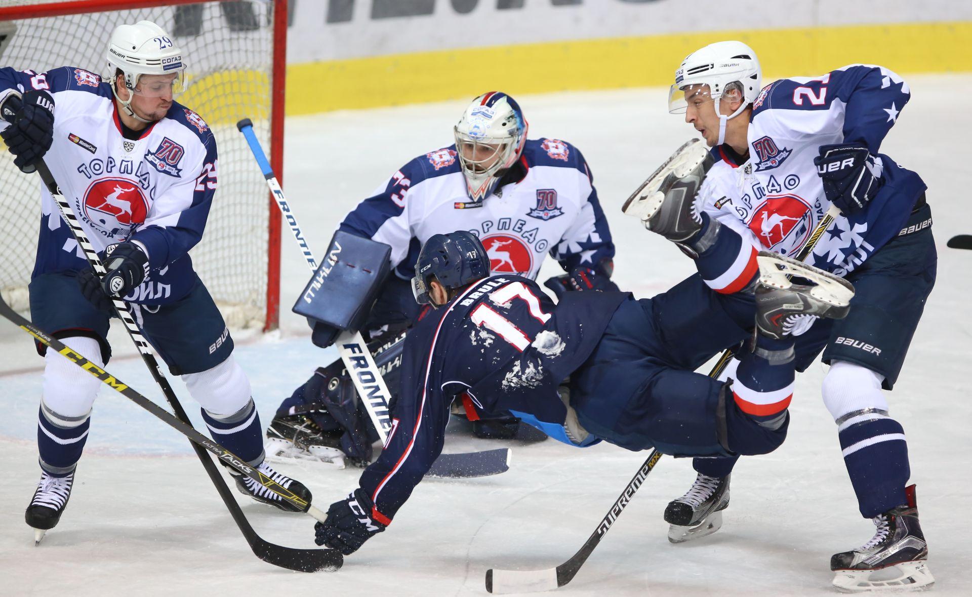 KHL Torpedo 'potopio' Medveščak, 'Medvjedi' pali na peto mjesto